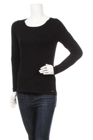 Dámska blúza Tom Tailor, Veľkosť M, Farba Čierna, 95% bavlna, 5% elastan, Cena  18,95€