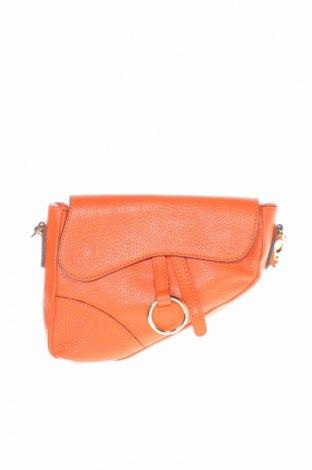 Γυναικεία τσάντα, Χρώμα Πορτοκαλί, Γνήσιο δέρμα, Τιμή 33,15€