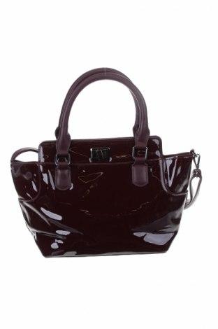 Дамска чанта, Цвят Червен, Еко кожа, Цена 17,63лв.