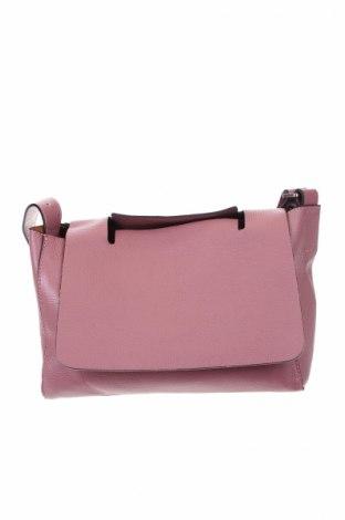 Γυναικεία τσάντα, Χρώμα Βιολετί, Γνήσιο δέρμα, Τιμή 35,07€