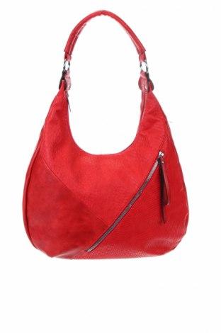 Γυναικεία τσάντα, Χρώμα Κόκκινο, Δερματίνη, Τιμή 18,19€