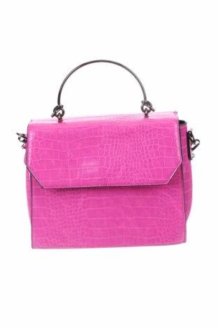 Γυναικεία τσάντα, Χρώμα Ρόζ , Δερματίνη, Τιμή 19,74€