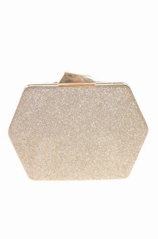 Γυναικεία τσάντα, Χρώμα Χρυσαφί, Κλωστοϋφαντουργικά προϊόντα, Τιμή 16,05€