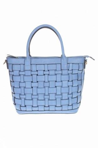 Γυναικεία τσάντα, Χρώμα Μπλέ, Δερματίνη, Τιμή 20,98€