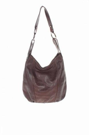 Γυναικεία τσάντα, Χρώμα Καφέ, Γνήσιο δέρμα, Τιμή 35,79€