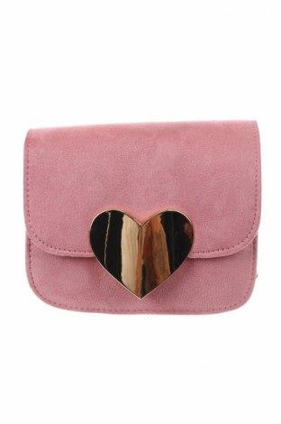 Damska torebka, Kolor Różowy, Materiał tekstylny, Cena 79,80zł