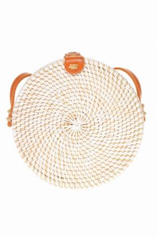 Γυναικεία τσάντα, Χρώμα Λευκό, Άλλα υλικά, Τιμή 25,92€