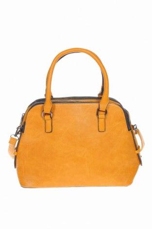 Γυναικεία τσάντα, Χρώμα Καφέ, Δερματίνη, Τιμή 21,59€