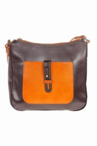 Γυναικεία τσάντα, Χρώμα Καφέ, Γνήσιο δέρμα, Τιμή 31,46€