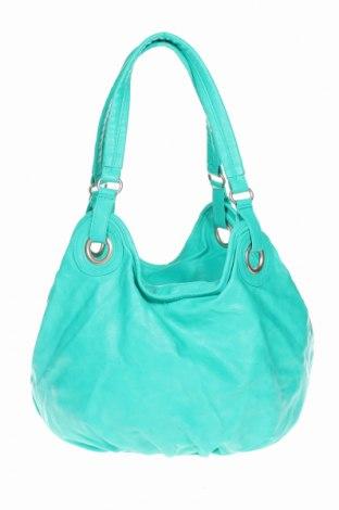 Дамска чанта Accessoires, Цвят Зелен, Еко кожа, Цена 22,05лв.