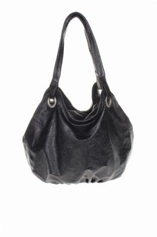 Дамска чанта Accessories, Цвят Черен, Еко кожа, Цена 26,93лв.