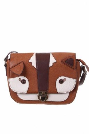 Γυναικεία τσάντα Accessorize, Χρώμα Καφέ, Δερματίνη, Τιμή 16,24€