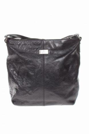 Γυναικεία τσάντα Adax, Χρώμα Μαύρο, Γνήσιο δέρμα, Τιμή 32,01€