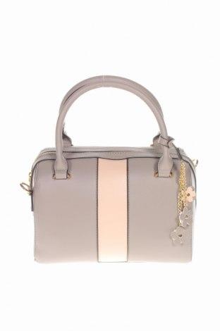 Дамска чанта Bpc Bonprix Collection, Цвят Сив, Еко кожа, Цена 25,50лв.