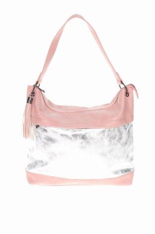 Дамска чанта Bpc Bonprix Collection, Цвят Розов, Еко кожа, Цена 31,50лв.