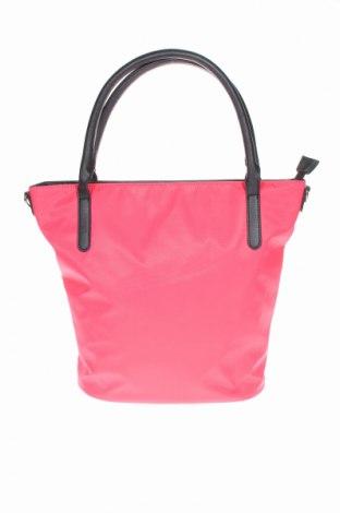 Дамска чанта Bpc Bonprix Collection, Цвят Розов, Текстил, еко кожа, Цена 33,00лв.
