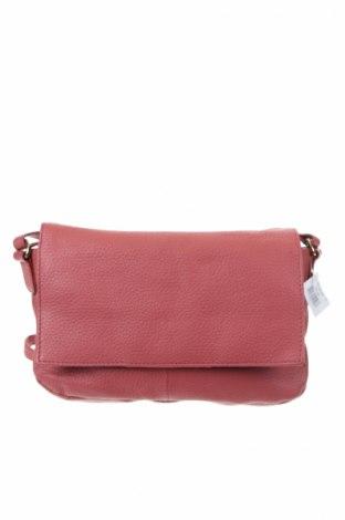 Γυναικεία τσάντα Esmara, Χρώμα Ρόζ , Γνήσιο δέρμα, Τιμή 25,92€
