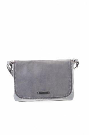 Γυναικεία τσάντα Esprit, Χρώμα Γκρί, Δερματίνη, Τιμή 17,28€