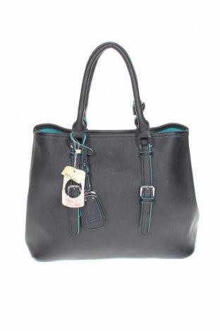 Γυναικεία τσάντα Gb, Χρώμα Μαύρο, Δερματίνη, Τιμή 32,01€