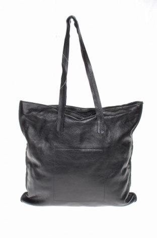 Γυναικεία τσάντα L.Credi, Χρώμα Μαύρο, Γνήσιο δέρμα, Τιμή 50,60€