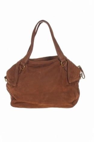 Γυναικεία τσάντα Liebeskind, Χρώμα Καφέ, Γνήσιο δέρμα, Τιμή 64,30€
