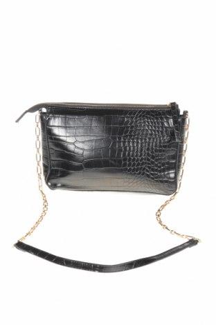 Γυναικεία τσάντα Mango, Χρώμα Μαύρο, Δερματίνη, Τιμή 13,58€
