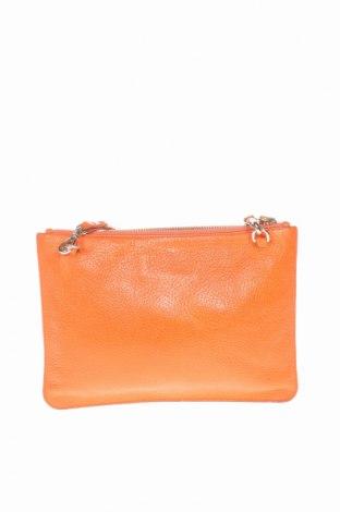 Γυναικεία τσάντα Massimo Dutti, Χρώμα Πορτοκαλί, Γνήσιο δέρμα, Τιμή 24,01€