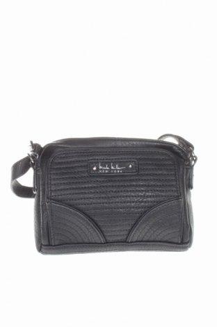 Γυναικεία τσάντα Nicole Miller, Χρώμα Μαύρο, Δερματίνη, Τιμή 43,06€