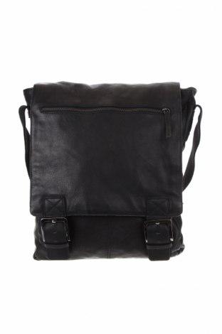 Γυναικεία τσάντα Onstage, Χρώμα Μαύρο, Γνήσιο δέρμα, Τιμή 44,16€