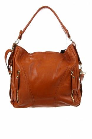 Дамска чанта Ore10, Цвят Кафяв, Естествена кожа, Цена 147,60лв.