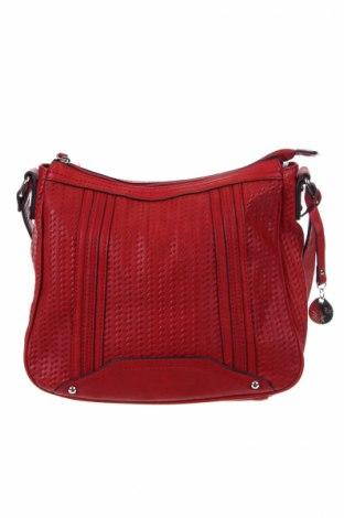 Γυναικεία τσάντα Woman By Tchibo, Χρώμα Κόκκινο, Δερματίνη, Τιμή 18,19€
