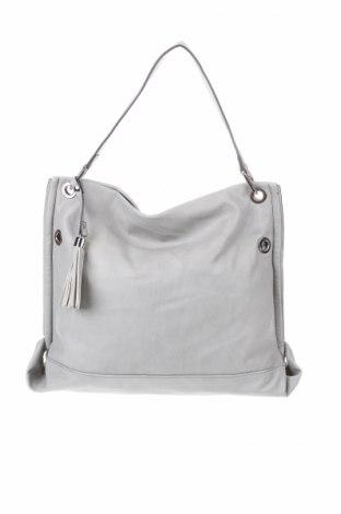 Γυναικεία τσάντα Woman By Tchibo, Χρώμα Γκρί, Δερματίνη, Τιμή 14,81€