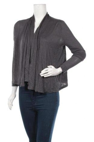 Дамска жилетка H&M, Размер S, Цвят Сив, Вискоза, Цена 5,55лв.