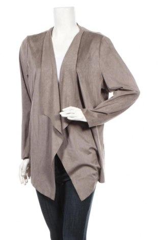 Γυναικεία ζακέτα Viventy by Bernd Berger, Μέγεθος L, Χρώμα Καφέ, 90% πολυεστέρας, 10% ελαστάνη, Τιμή 15,59€