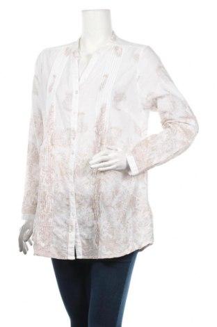 Дамска риза Andrea, Размер L, Цвят Бял, Памук, Цена 3,47лв.