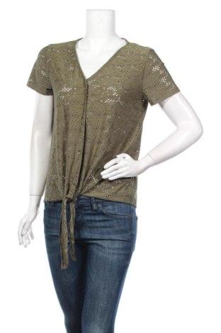 Дамска риза Camaieu, Размер M, Цвят Зелен, Цена 9,60лв.