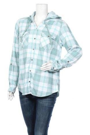 Дамска риза Columbia, Размер L, Цвят Зелен, Памук, Цена 12,29лв.