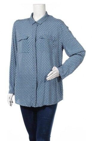 Дамска риза Esprit, Размер XL, Цвят Син, Цена 13,23лв.