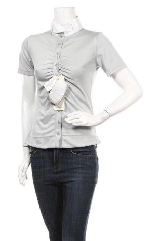 Дамска риза Gersemi, Размер S, Цвят Сив, 50% памук, 50% полиестер, Цена 10,25лв.