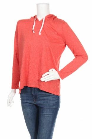 Дамска спортна блуза, Размер M, Цвят Оранжев, 65% полиестер, 35% вискоза, Цена 5,36лв.