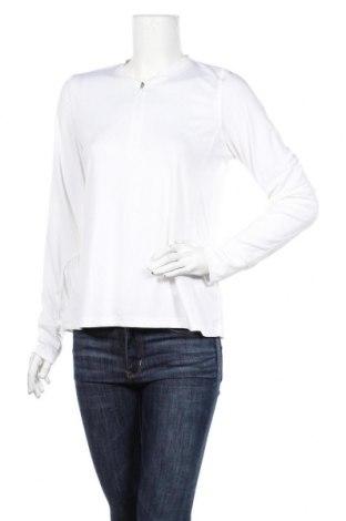 Дамска спортна блуза TCM, Размер L, Цвят Бял, 92% полиестер, 8% еластан, Цена 7,09лв.