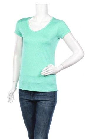 Дамска тениска Energetics, Размер S, Цвят Зелен, Полиестер, Цена 7,15лв.