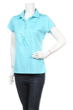 Дамска тениска New Balance, Размер L, Цвят Син, Цена 10,80лв.