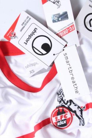 Дамска тениска Uhlsport, Размер XS, Цвят Бял, Полиестер, Цена 3,60лв.