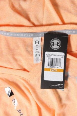 Дамска тениска Under Armour, Размер M, Цвят Розов, Полиестер, Цена 51,75лв.