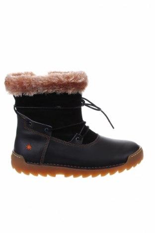 Дамски ботуши Art Shoes, Размер 35, Цвят Черен, Естествена кожа, Цена 153,17лв.