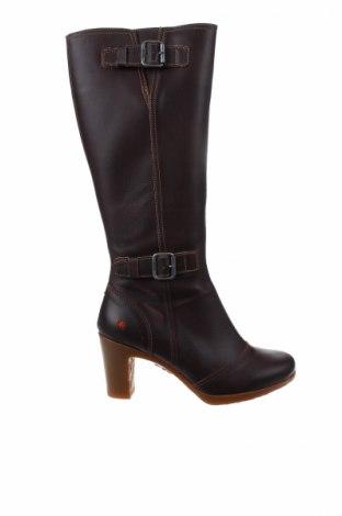 Дамски ботуши Art Shoes, Размер 40, Цвят Кафяв, Естествена кожа, Цена 147,87лв.