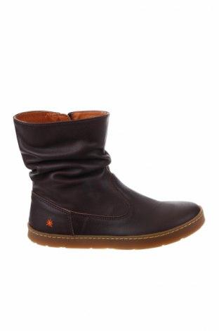 Дамски ботуши Art Shoes, Размер 37, Цвят Кафяв, Естествена кожа, Цена 153,17лв.