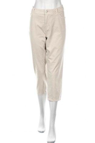 Дамски дънки Bonita, Размер XL, Цвят Бежов, 60% памук, 24% полиестер, 13% вискоза, 3% еластан, Цена 6,83лв.