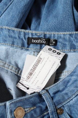 Дамски дънки Boohoo, Размер S, Цвят Син, Памук, Цена 31,50лв.